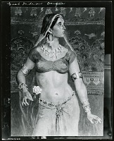 view East Indian Dancer [painting] / (photographed by Peter A. Juley & Son) digital asset number 1