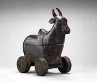 view Ox toy on wheels digital asset number 1