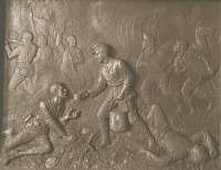view Civil War Battle Relief [sculpture] / (photographer unknown) digital asset number 1