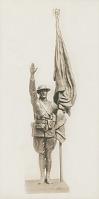 view Soldier for Manchester World War I Memorial [sculpture] / (photographer unknown) digital asset number 1