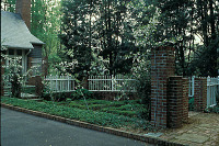 view The Garden Club of America collection digital asset: Agee-Wrinkle Garden: the parterre garden.: 1992 Apr.