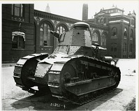 view World War I Tank Outside National Museum digital asset number 1