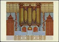 view Postcard of Painting of an Organ digital asset number 1