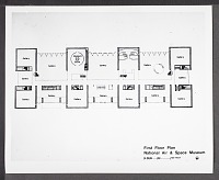 view Concept Drawing of the First Floor for National Air & Space Museum digital asset number 1