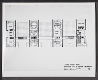 view Proposed Third Floor Plan for National Air and Space Museum digital asset number 1