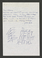 view Letter from John Ball of Syracuse, NY, December 1974 digital asset number 1