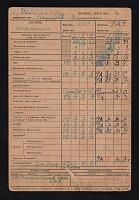 view Reginald Gammon papers digital asset: Report Card