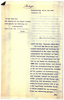 view S-5: Copy of Prof. Sarre's letter to Exz. von Harnack, President of the Kaiser-Wilhelm-Gesellschaft, requesting funds for the Samarra publications. May 5, 1919 digital asset: Excavation of Samarra (Iraq): Copy of Prof. Sarre's Letter Requesting Funds for the Samarra Publications