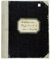 """view S-6: """"Samarra Tagebuch I, Ernst Herzfeld"""" digital asset: Excavation of Samarra (Iraq): First Campaign, Diary 1"""