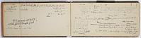 view SK-IV Persien digital asset: Ernst Herzfeld Papers, Series 2: Sketchbooks; Subseries 2.01: Persia, 1923: Sketchbook 04