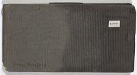 view SK-VIII Persien digital asset: Ernst Herzfeld Papers, Series 2: Sketchbooks; Subseries 2.01: Persia, 1924: Sketchbook 08