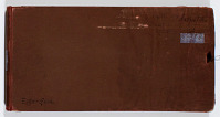 view SK-XXVII Antiquitäten I digital asset: Ernst Herzfeld Papers, Series 2: Sketchbooks; Subseries 2.12: Antiquities 1: Sketchbook 27