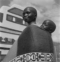 view Ndebele Mother and Child digital asset: Ndebele Mother and Child