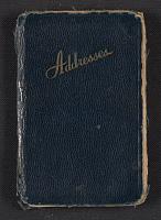 Joseph Cornell's address book, 1950-1970