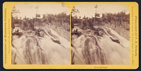 view Stereographs of Minnesota Scenery from Taylor's Gallery, Saint Paul: Redwood Falls digital asset number 1