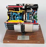 view Model, ASM-135 Miniature Homing Vehicle, Full Scale Cutaway digital asset number 1