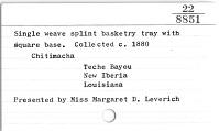 thumbnail for Image 2 - Basket tray