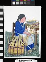 thumbnail for Image 1 - Cherokee Split Cane Basket Maker