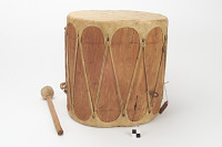 thumbnail for Image 1 - Drum and drumstick