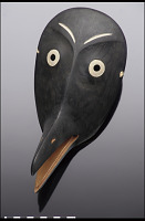 view Raven mask digital asset number 1