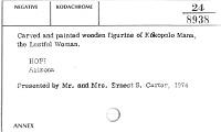 thumbnail for Image 2 - Kokopala Mana (Lustful Woman) kachina