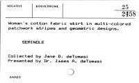 thumbnail for Image 2 - Woman's skirt