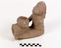 thumbnail for Image 1 - Pipe bowl with human figure