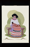 thumbnail for Image 1 - Seminole Mother and Baby