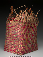 thumbnail for Image 1 - Pieced Treaty: Spider's Web Treaty Basket