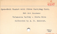 thumbnail for Image 3 - Burden basket with burden strap/tumpline