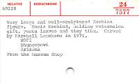 thumbnail for Image 3 - Hemis kachina