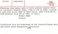 thumbnail for Image 2 - Winnowing basket
