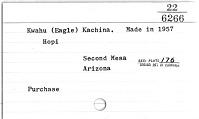 thumbnail for Image 2 - Kwahu Eagle kachina