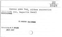 thumbnail for Image 2 - Game bag