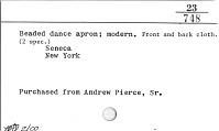 thumbnail for Image 2 - Man's dance kilt/apron