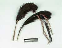 thumbnail for Image 5 - Man's turban plume/feather