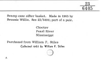 thumbnail for Image 2 - Basket sieve/sifter