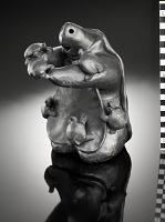 thumbnail for Image 1 - Turtle storyteller figure