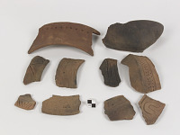 thumbnail for Image 1 - Vessel fragment/potsherd