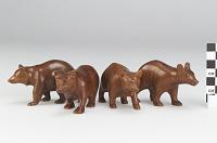 thumbnail for Image 1 - Bear figures