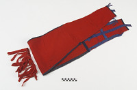 thumbnail for Image 1 - Breechcloth, neck ornament, and sash/belt