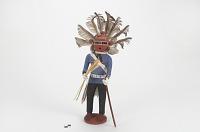 thumbnail for Image 1 - Kipok Koyemsi (Warrior Clown) kachina