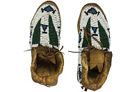 view Pair of Beaded Moccasins digital asset number 1
