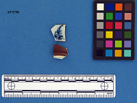 view Chinese porcelain rim and base sherds digital asset number 1