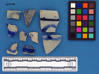 view Rhenish stoneware decorated sherds digital asset number 1