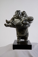 view Figure, mother and two children digital asset number 1