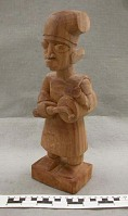 view Unfinished Figure -- Stage 4 in Woodcarving Process digital asset number 1