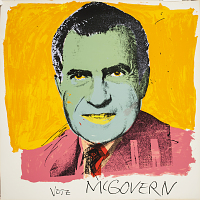 view Nixon '72 (Vote Mc Govern) digital asset number 1