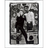 view Tina Weymouth and Grandmaster Flash, NYC, 1981 digital asset number 1