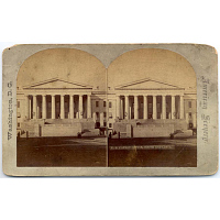 view U.S. Patent Office, South Entrance with Remodeled Stairs digital asset number 1